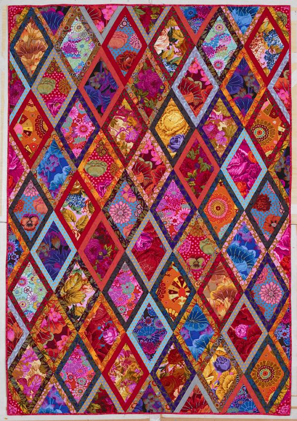 A Diamond Patchwork Quilt By Kaffe Fassett Photo Credit John Stewart Image Courtesy