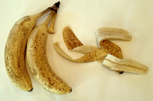 The Lamar University research team used banana peels shipped from India to better simulate what people there would be able to access easily. Photo: Benita Green Lee