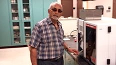 Dr. Shyam Shukla in the Lab