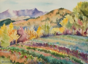"""Fall Harvest at Pachamama"" by Dottie Oatman"