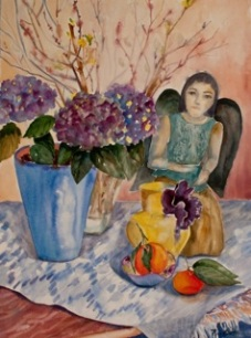 """The Angel's Offering"" by Dottie Oatman"